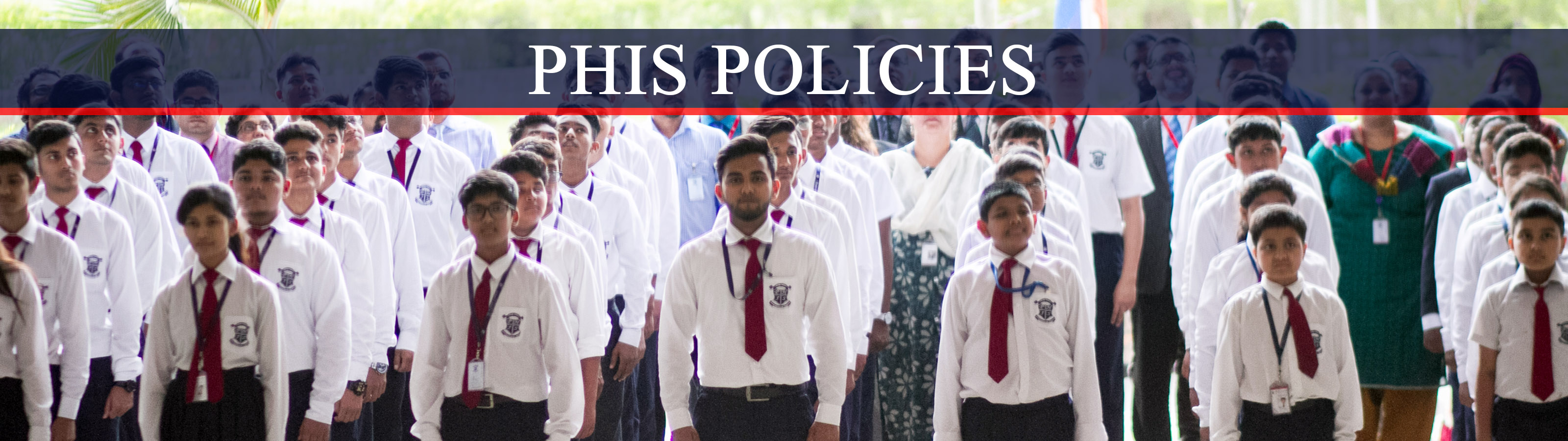 Policies banner